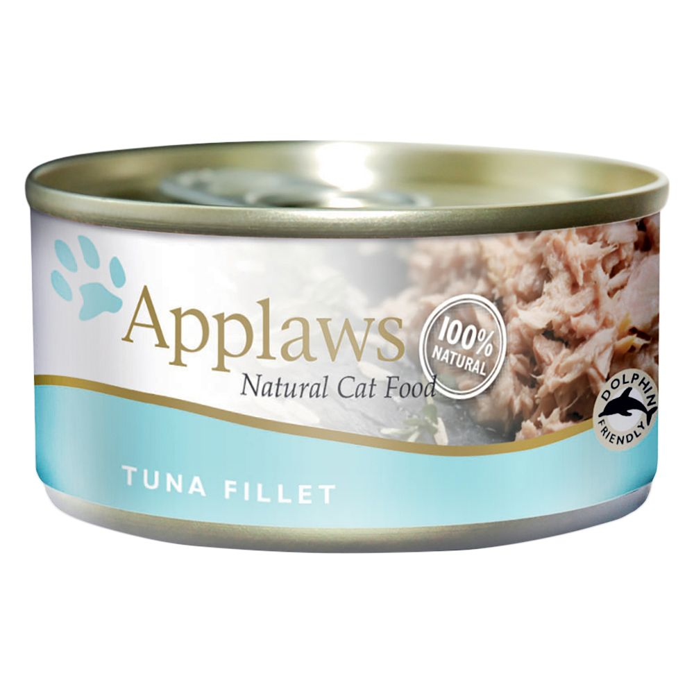 Applaws Cat Food 70g - Tuna / Fish - Mixed Pack: Fish Collection 12 x 70g