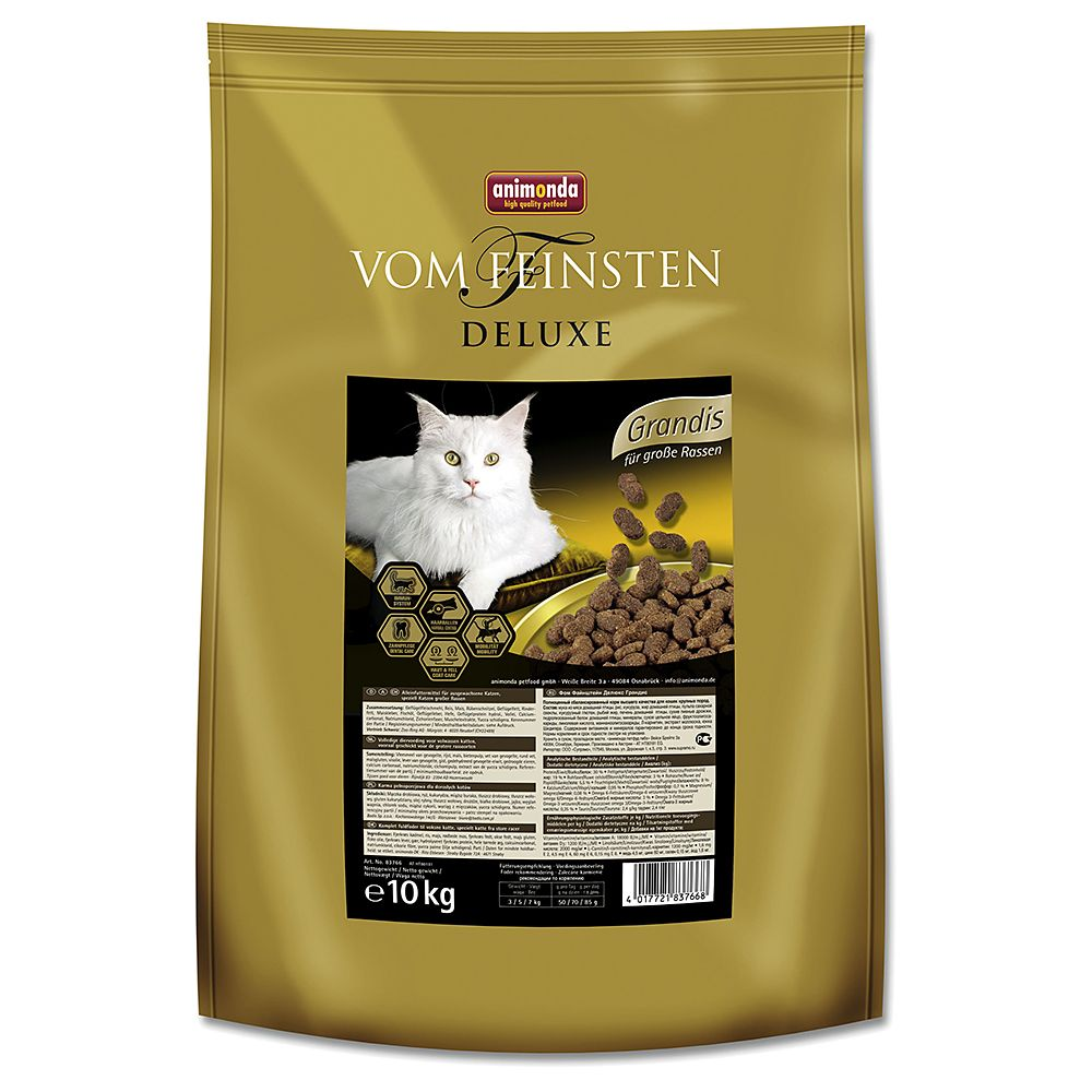 Animonda vom Feinsten Deluxe Dry Cat Food Economy Packs 2 x 10kg - Adult Trout