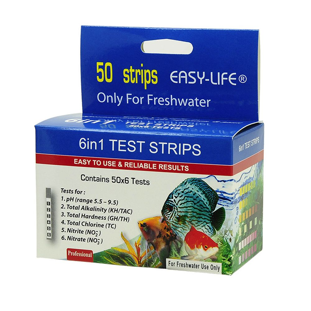 Easy-Life 6 in 1 Test Strips - Economy Pack: 2 x 50 Test Strips
