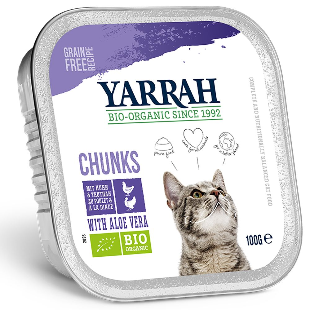 Yarrah Organic Chunks in Gravy 6 x 100g - Beef with Parsley & Thyme