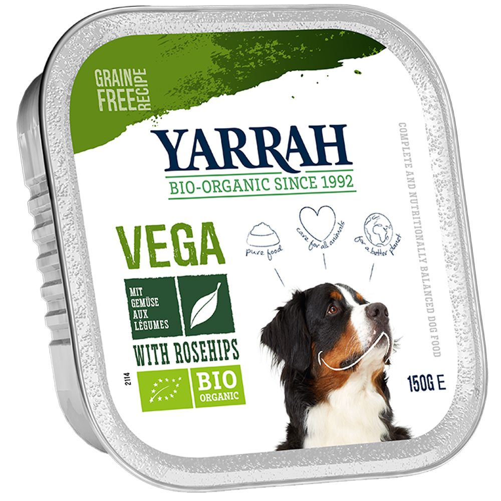Yarrah Organic Vegetarian Chunks with Rosehip - 12 x 150g