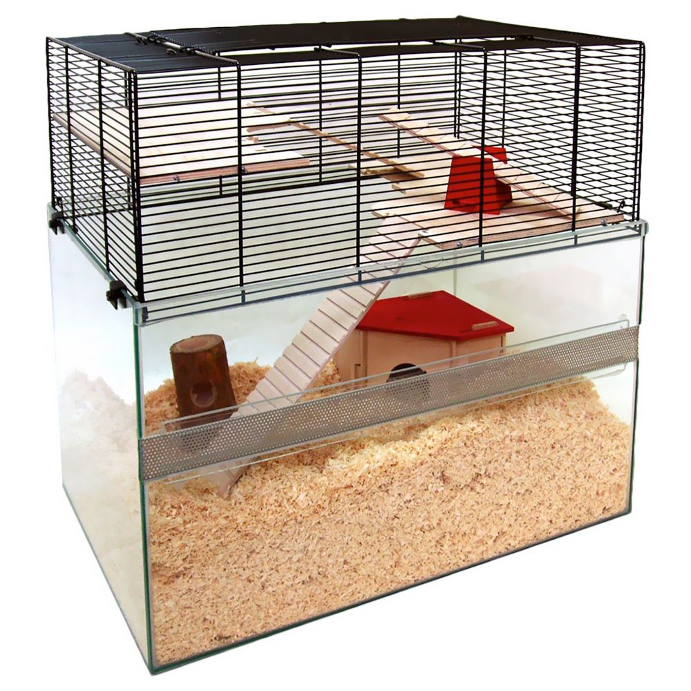 Falco Small Pet Cage - 75 x 45 x 63 cm (L x W x H)