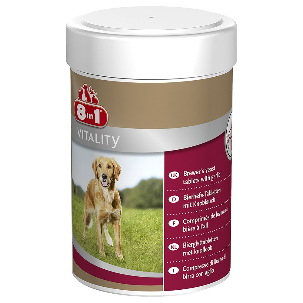 8in1 Vitality Brewer?s Yeast - 260 tablets