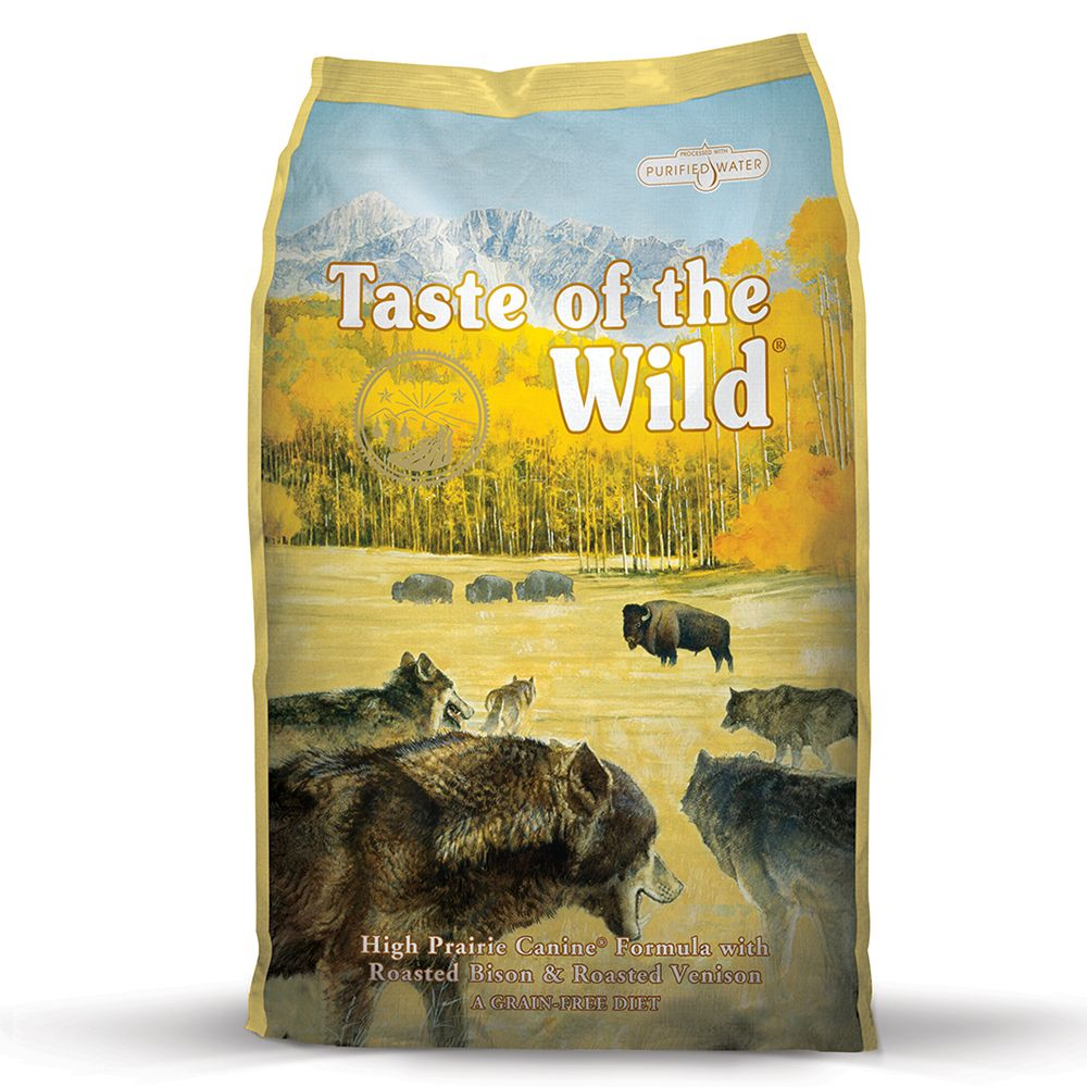 Taste of the Wild - High Prairie Adult - Economy Pack: 2 x 13kg