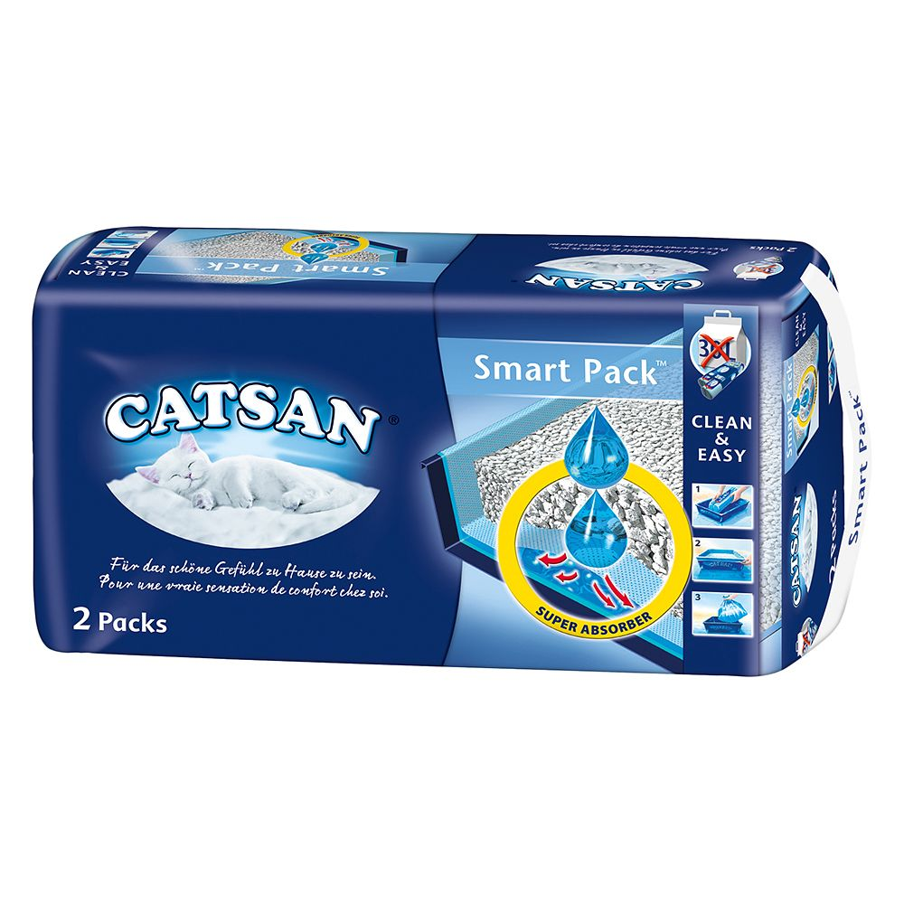 Catsan Smart Pack - 2 Pack