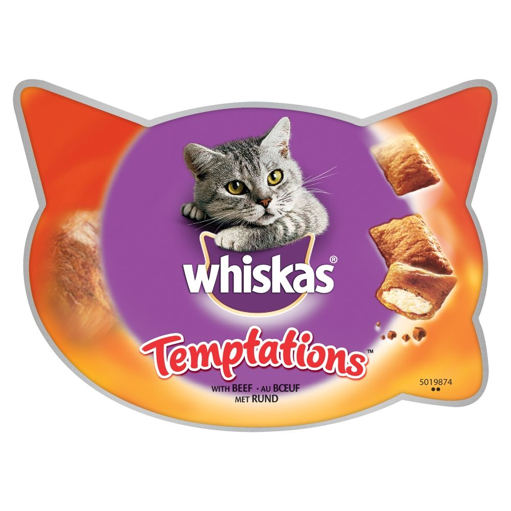 Whiskas Temptations 72g - Seafood