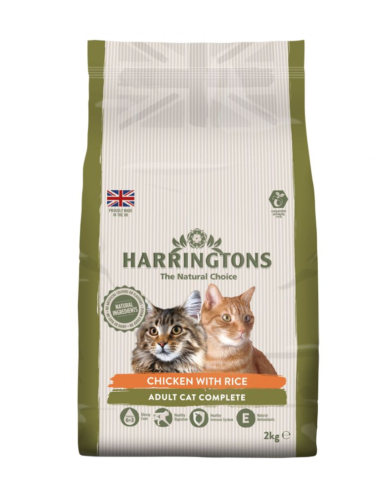 Harringtons Complete Cat Economy Packs 2 x 2kg - Mixed Pack