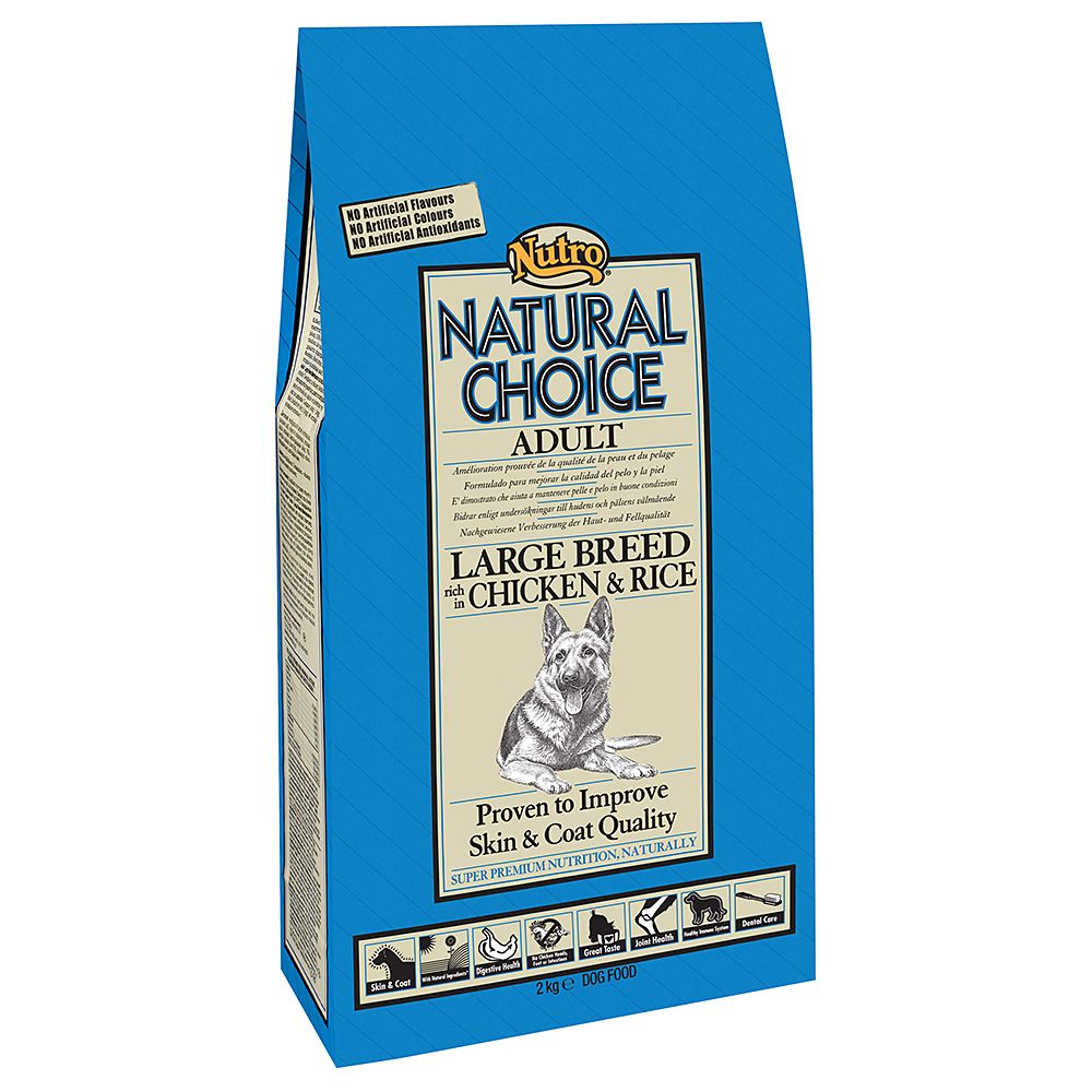 Nutro Natural Choice Adult Large Breed Chicken & Rice - 12kg
