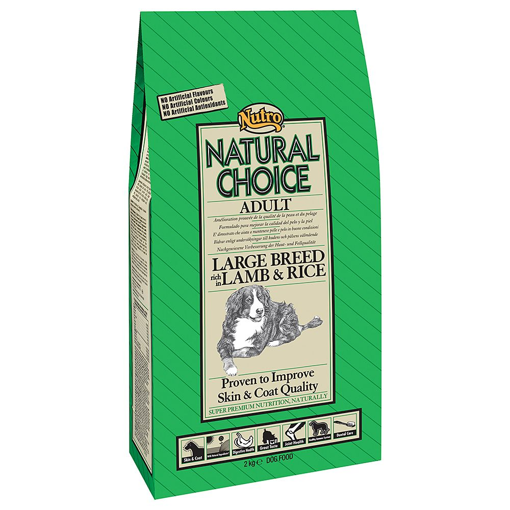 Nutro Natural Choice Adult Large Breed Lamb & Rice - 12kg