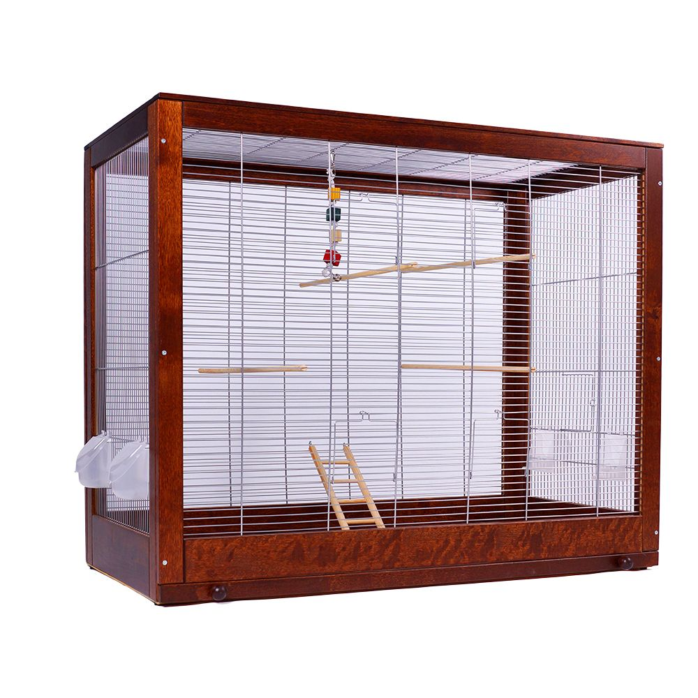 Diana Budgerigar Cage - Cage minus stand: 99 x 52 x 78 cm (L x W x H)