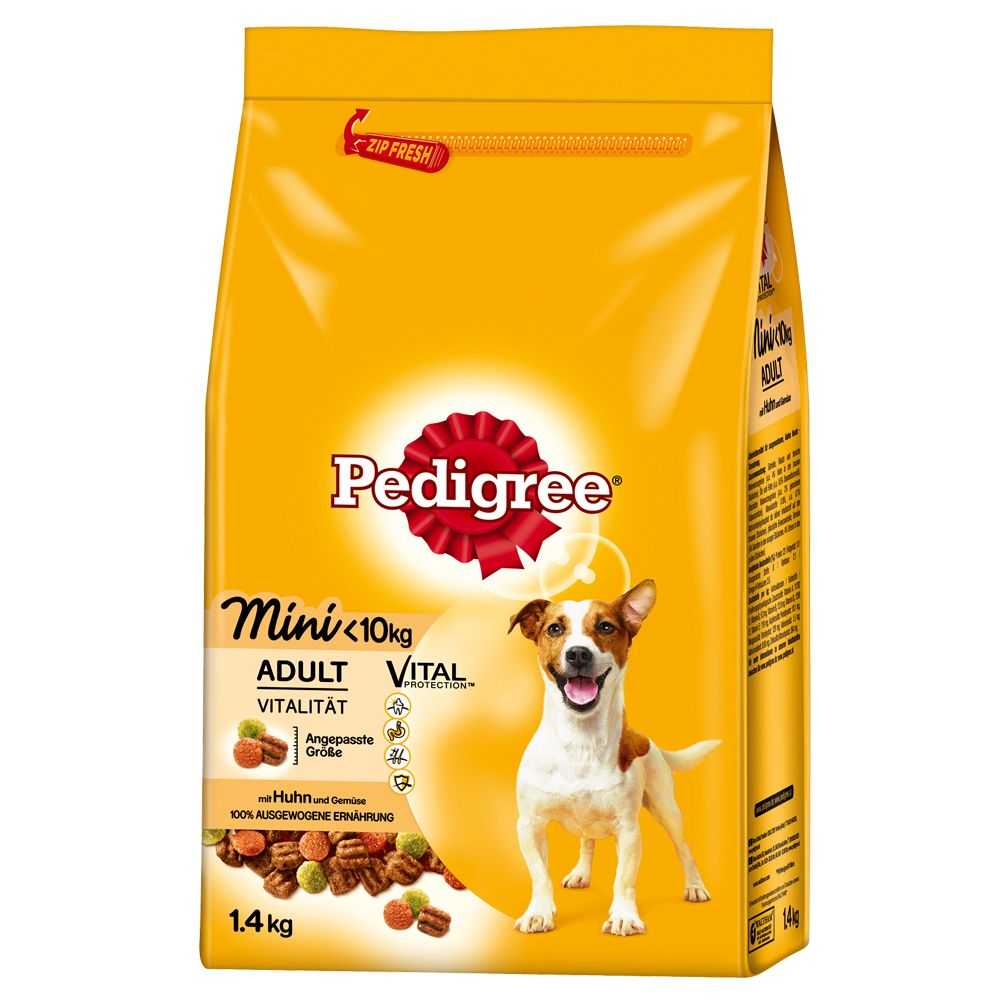 Pedigree Adult Mini Chicken & Vegetables - 1.4kg