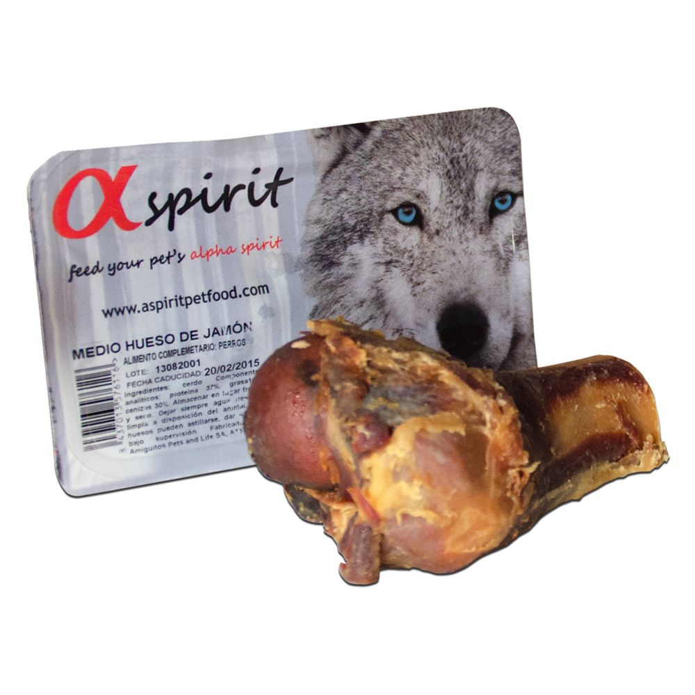 Alpha Spirit Half Ham Bone - approx. 120g