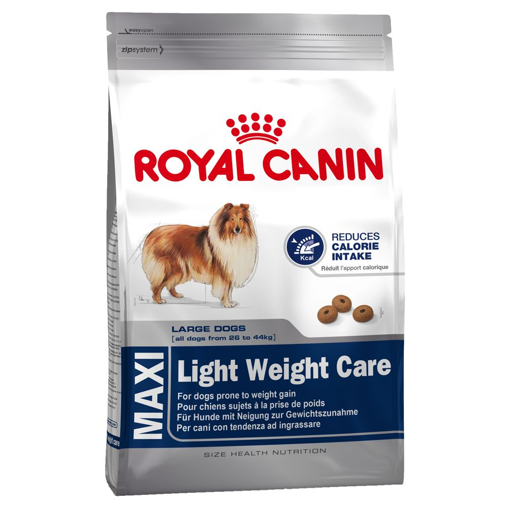 Royal Canin Maxi Light Weight Care - 15kg + 3kg free!