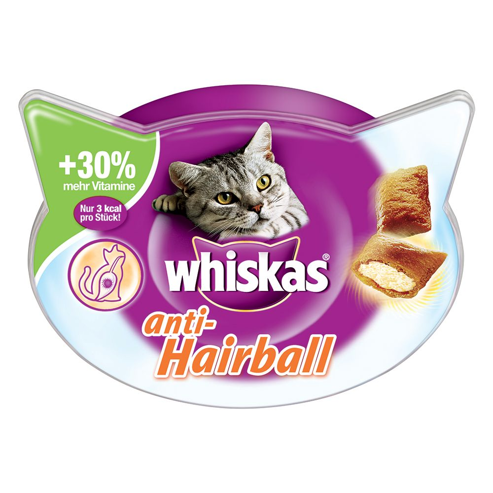 Whiskas Anti-Hairball - 72g