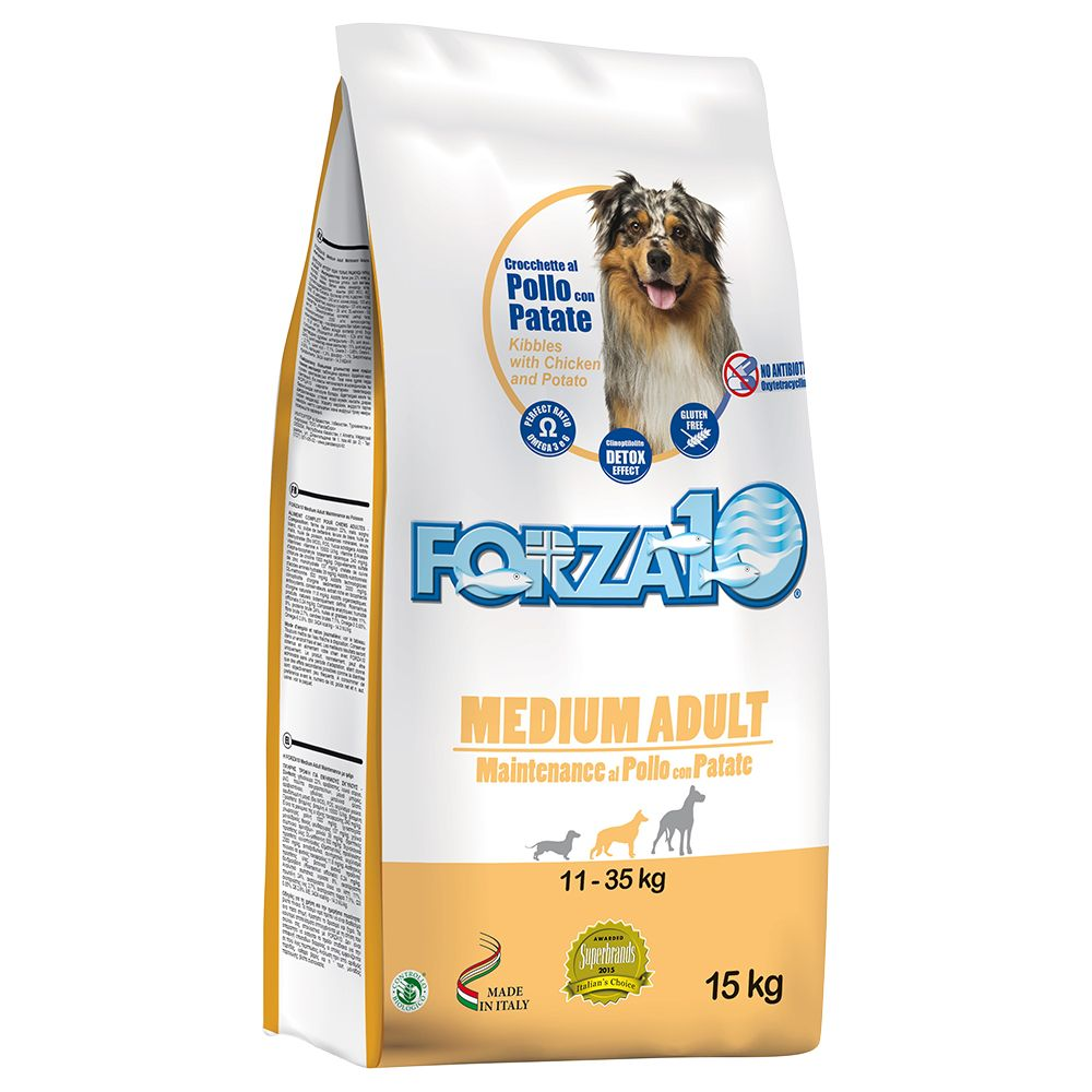 Forza 10 Medium Maintenance Chicken & Potato - 15kg