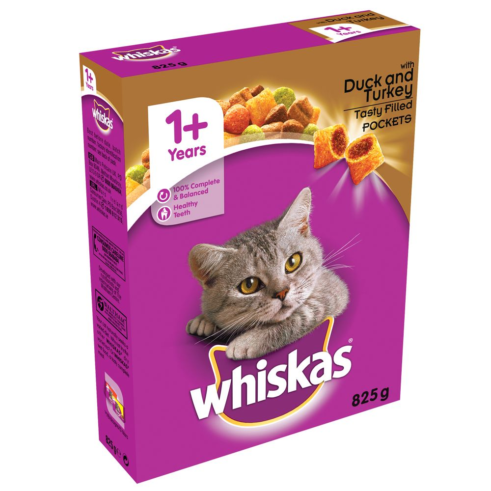 Whiskas 1+ Duck & Turkey - 2kg