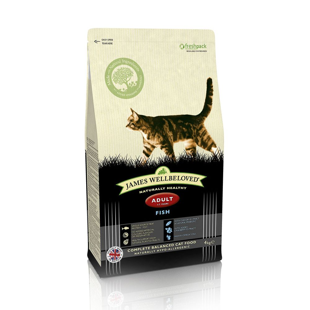 James Wellbeloved Adult Cat - Fish - Economy Pack: 2 x 10kg