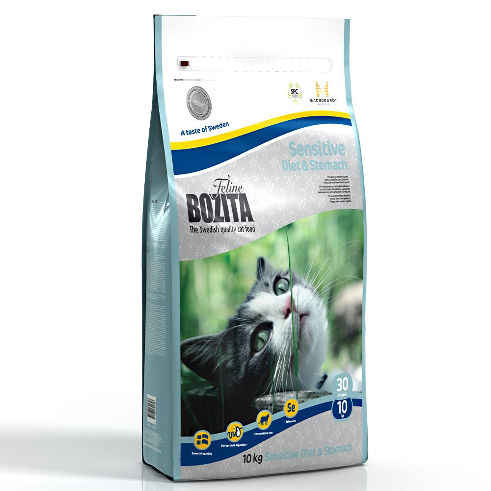 Bozita Feline Diet & Stomach - Sensitive - 10kg