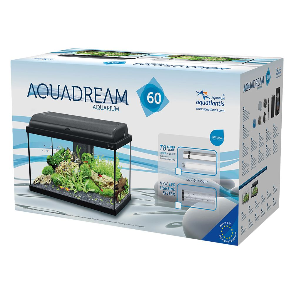 Aquatlantis Aquadream 60 Aquarium Set - Black