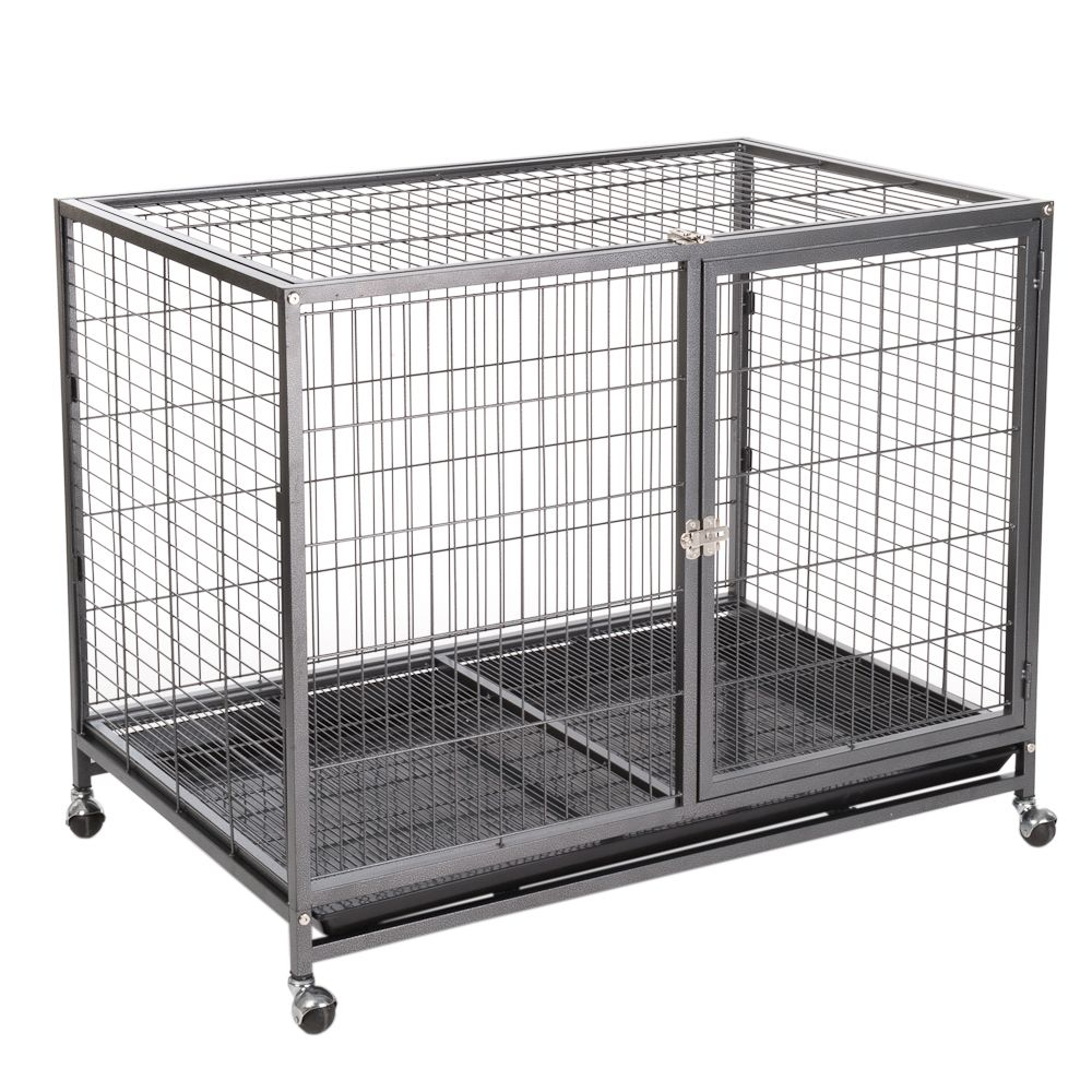 Tabby Indoor Dog Cage - Size L: 109.5 x 70 x 87.5 cm (L x W x H)