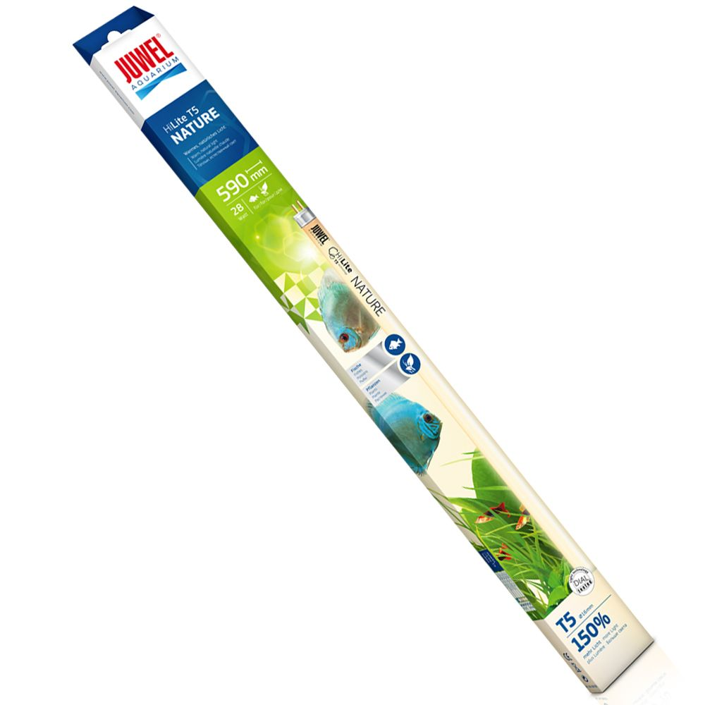 Juwel Nature High-Lite T5 Fluorescent Tubes - 28 Watt, L 59,0 cm fits Juwel Aquariums