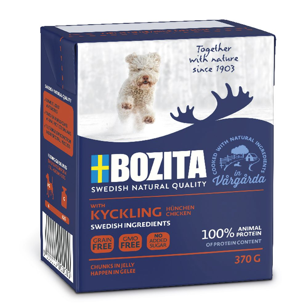 Bozita Chunks in Jelly 6 x 370g - Reindeer