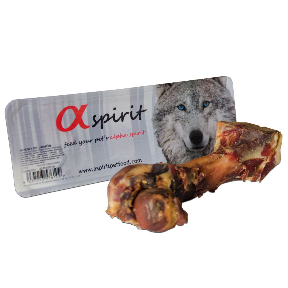 Alpha Spirit Whole Ham Bone - approx. 325g