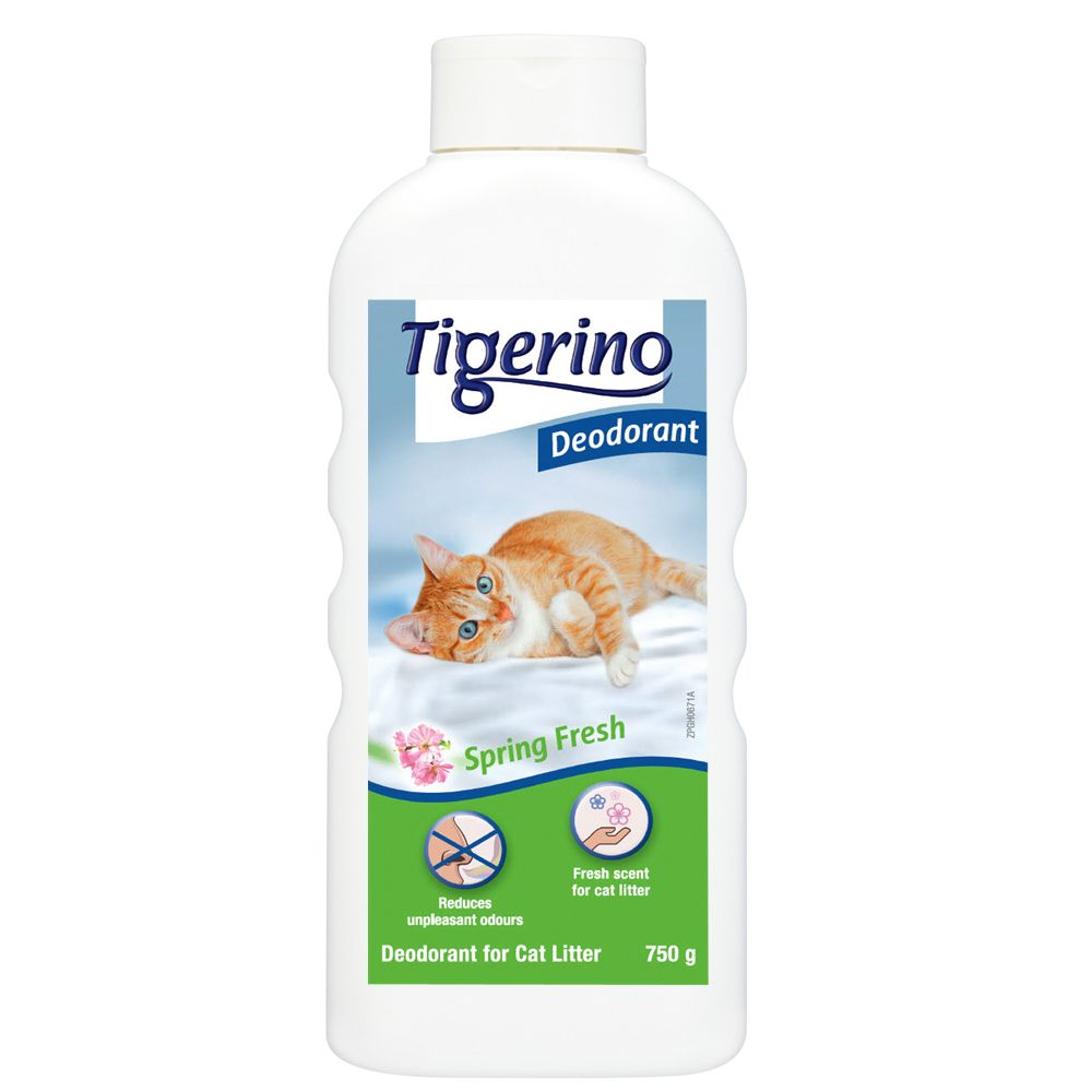 Tigerino Litter Deodorant 750g - Baby Powder