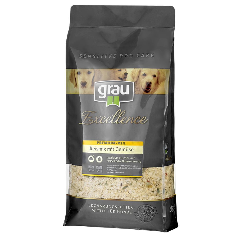 Grau Excellence Premium Rice Mix with Vegetables - 5kg