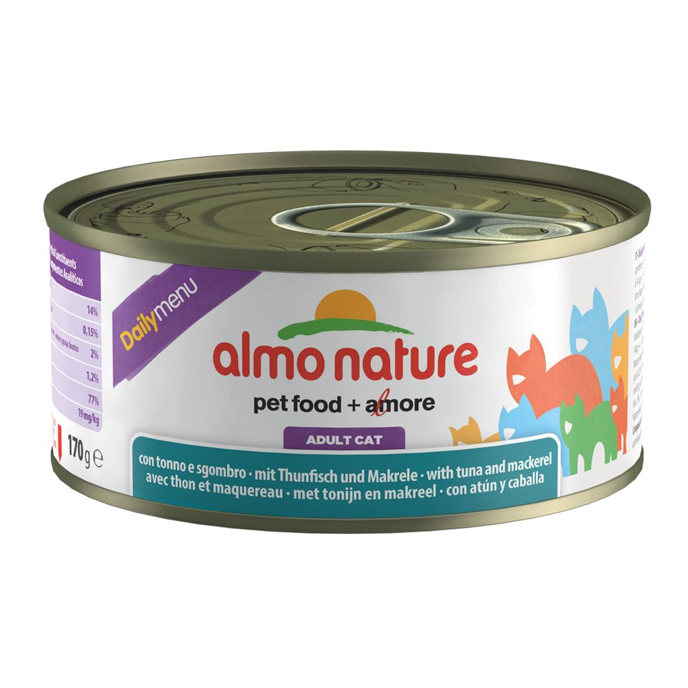 Almo Nature Daily Menu 170g - Tuna & Chicken (12 x 170g)
