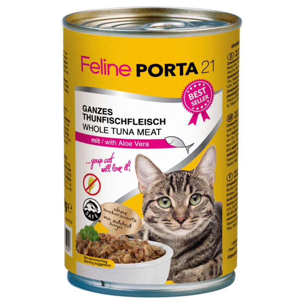 Feline Porta 21 Saver Pack 12 x 400g - Chicken with Rice - Sensitive