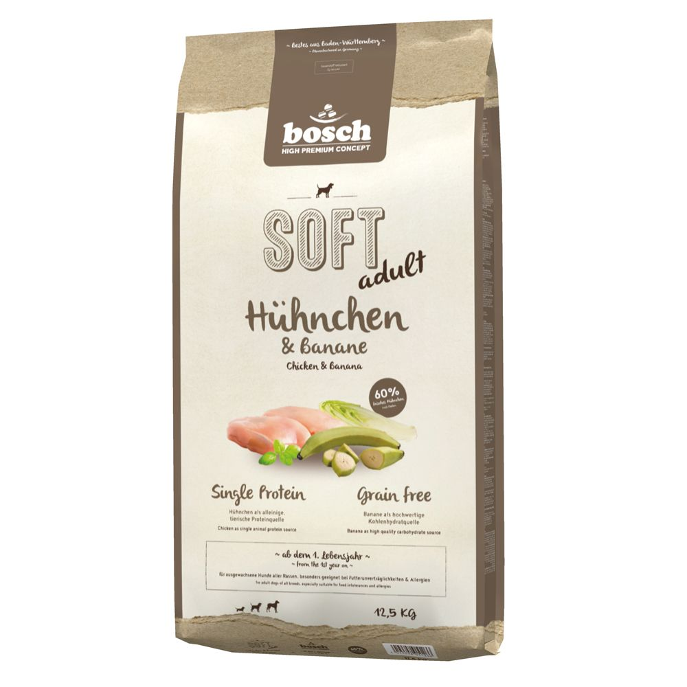 Bosch Soft Chicken & Banana HPC Dog Food - 12.5kg