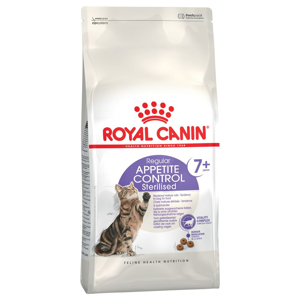Royal Canin Sterilised Appetite Control 7+ Cat - 1.5kg