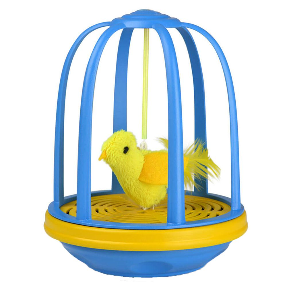 Bird in a Cage Cat Toy - 1 Toy