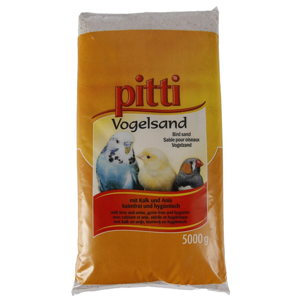 Pitti Fine Bird Grit - 5kg bag