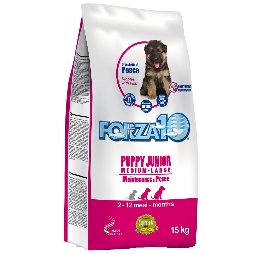 Forza 10 Puppy Junior with Fish - 15kg