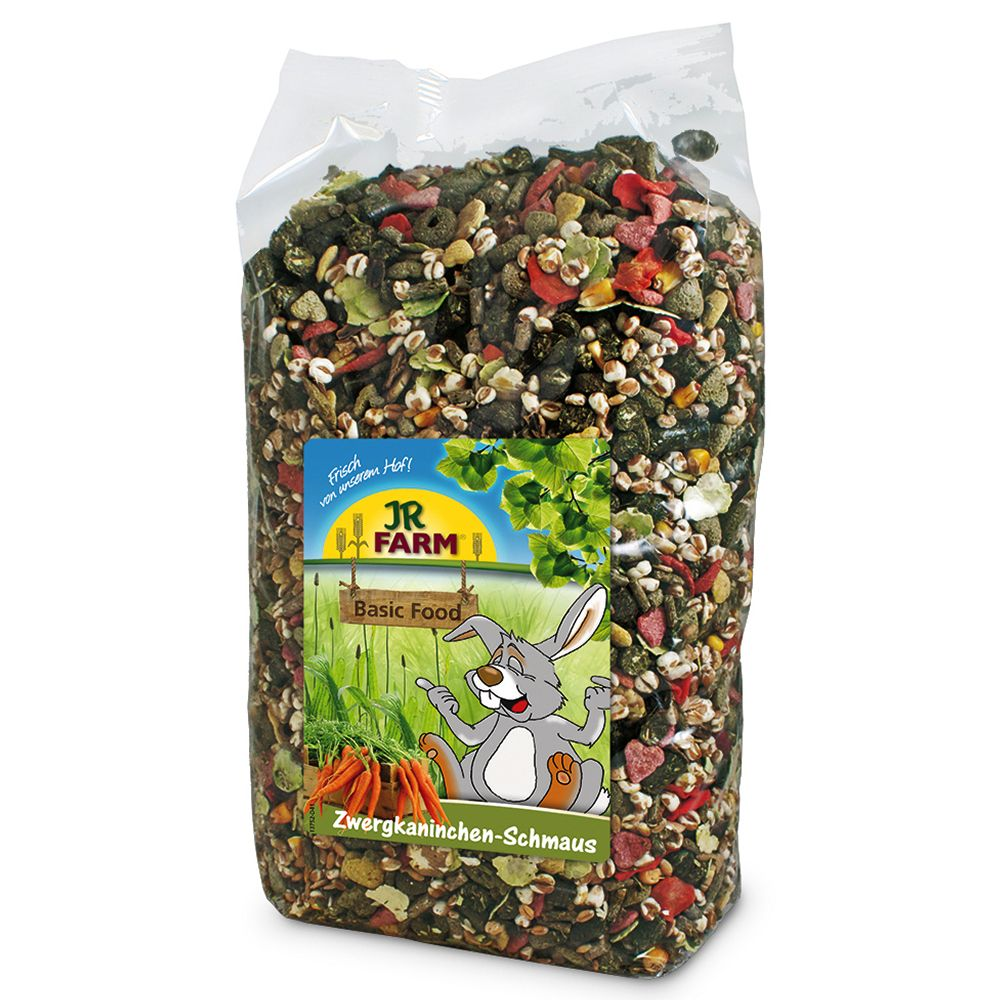 JR Farm Dwarf Rabbit Food Feast - 2.5kg