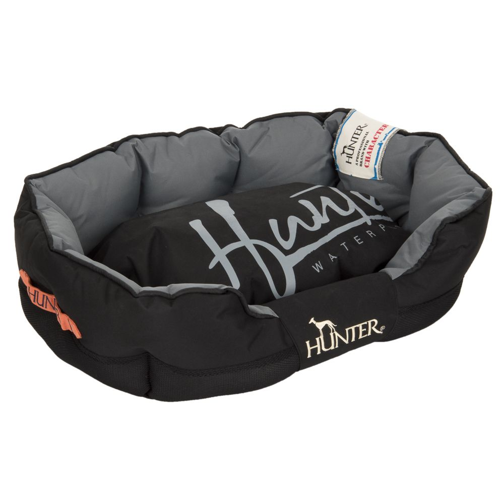 Hunter Grimstad Dog Bed - Black - 65 x 40 x 25 cm (L x W x H)