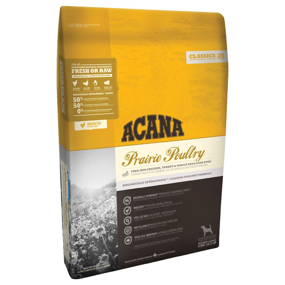 Acana Prairie Poultry Dry Dog Food - 11.4kg