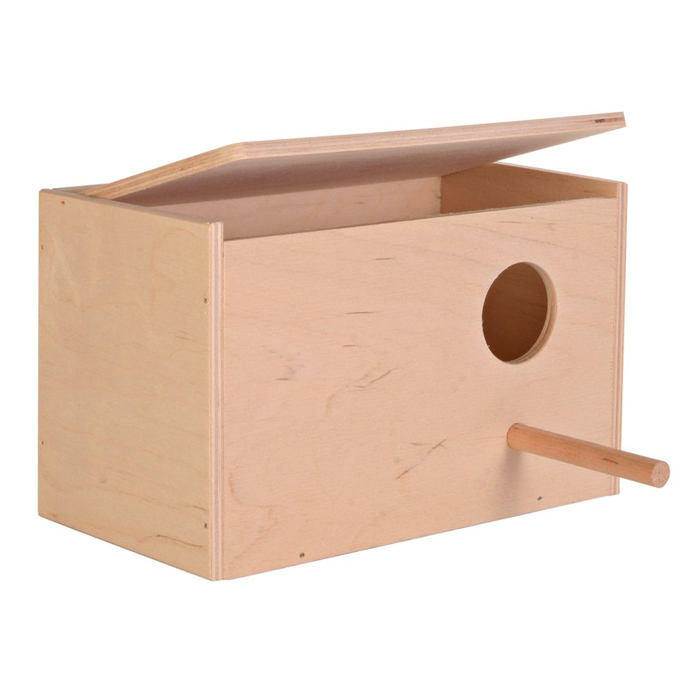 Trixie Nesting Box for Budgies - 21 x 13 x 13 cm (L x W x H)