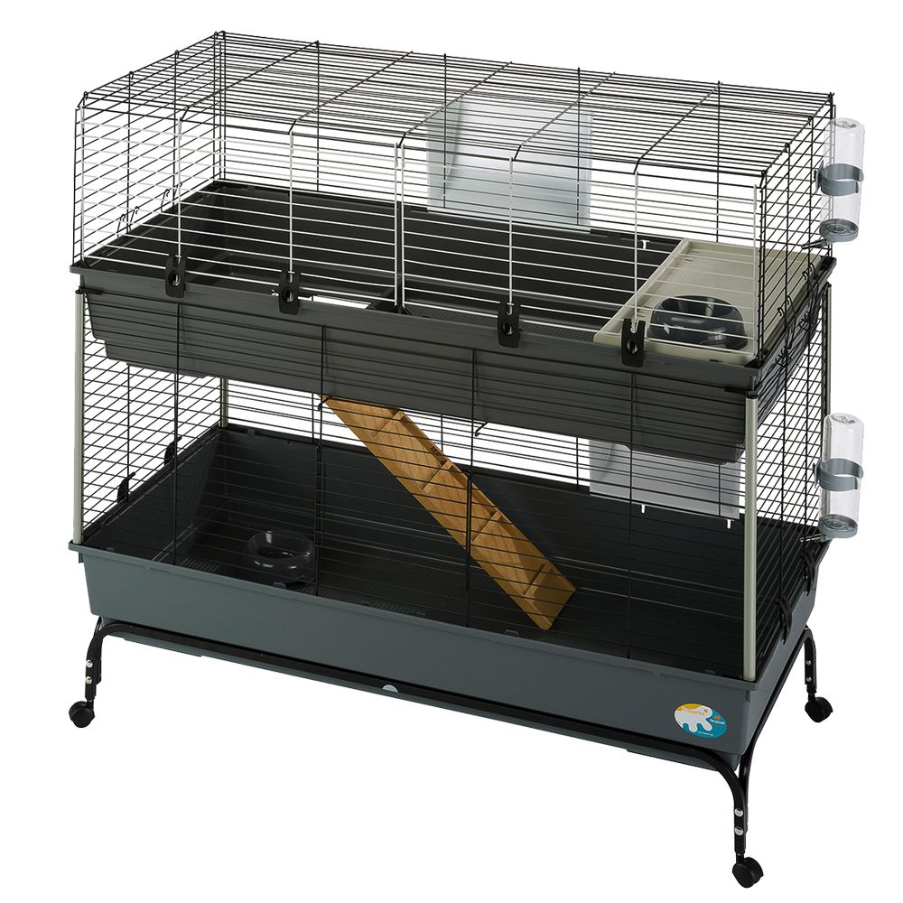Vital Small Pet Cage 120 - Black: 120 x 60 x 116 cm (L x W x H)