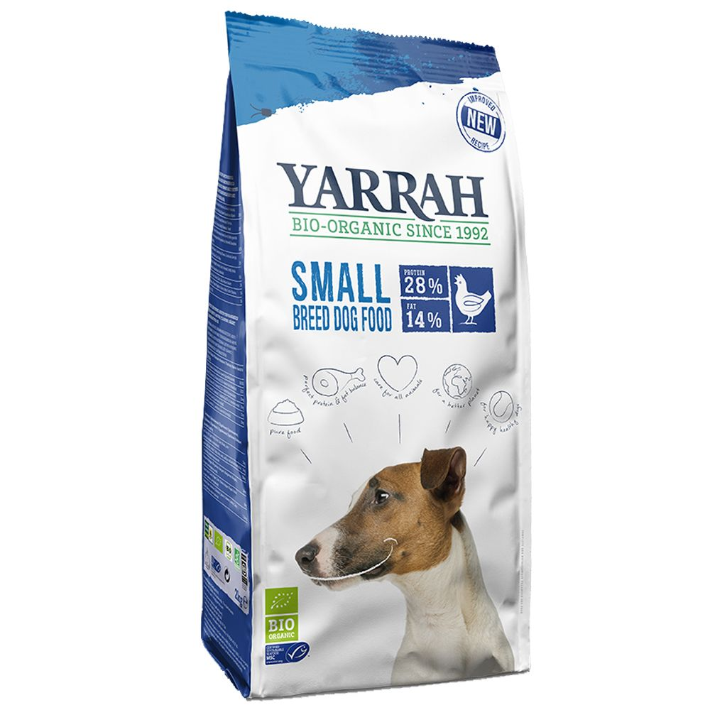 Yarrah Organic Small Breed with Chicken - 5kg