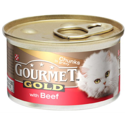 Gourmet Gold Beef In Gravy Cat Food