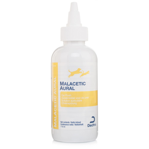 Malacetic Aural Ear Flush Cleaner For Cats And Dogs