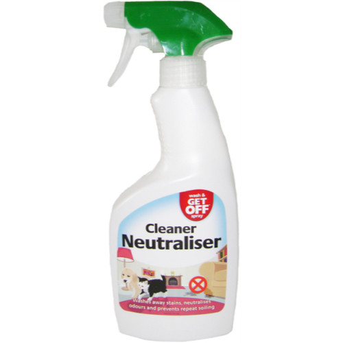 Wash & Get Off Cleaner Neutraliser Spray