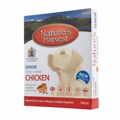 Natures Harvest Chicken & Brown Rice Senior Dog Food