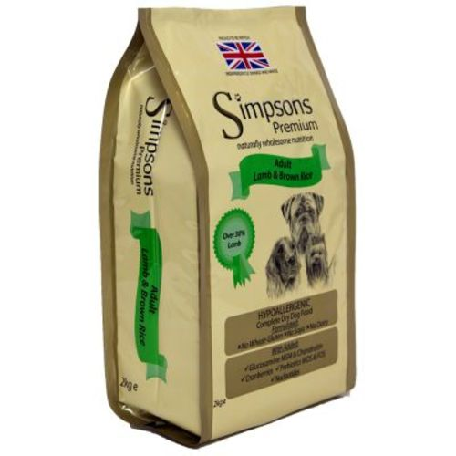 Simpsons Complete Lamb & Brown Rice Adult Dog Food