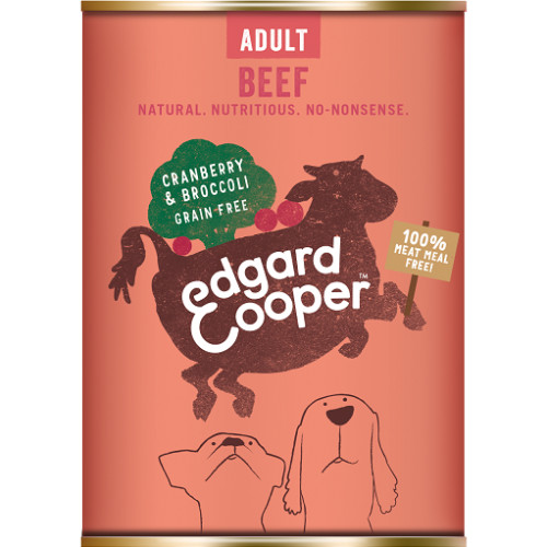 Edgard & Cooper Beef, Cranberry & Broccoli Wet Adult Dog Food