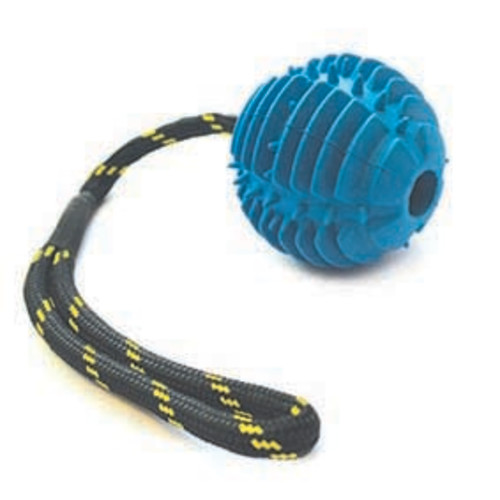Happy Pet Atomic Rope Ball Dog Toy