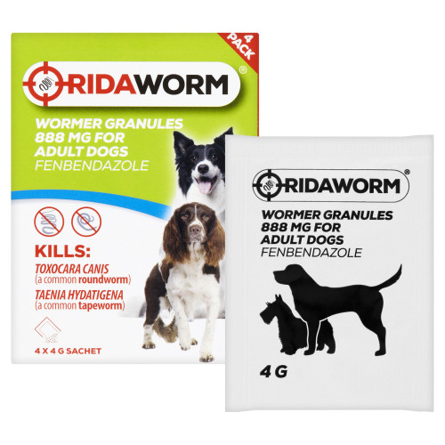 Ridaworm Dog Worming Granules